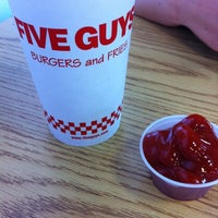 Photo taken at Five Guys by Reid F. on 9/18/2011