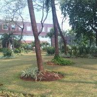 Photo taken at Taman BRI II by Ivan R P. on 9/10/2011