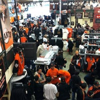 Photo taken at Giants Dugout Store by Chris B. on 4/12/2011