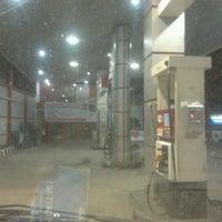 Photo taken at SPBU Pertamina by Eyank V. on 10/3/2011