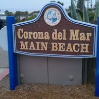 Photo taken at Corona del Mar State Beach by Mark M. on 6/25/2011