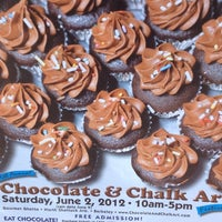 Photo taken at Chocolate and Chalk Art Fair by Arlene on 6/2/2012