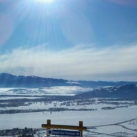 Photo taken at Jackson Hole Mountain Resort by Sam on 2/5/2012