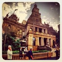 Photo taken at Sydney Town Hall by Rizky Prambudi Tanrian on 4/29/2012
