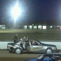 Photo taken at The New Humberstone Speedway by Angela R. on 7/14/2012