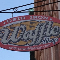 Photo taken at Grid Iron Waffle Shop by the Dave on 7/26/2012