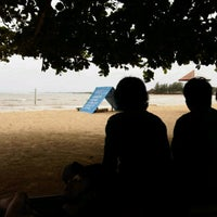 Photo taken at Pantai bandengan by Ponnang S. on 1/20/2012