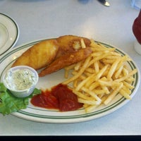 Photo taken at Eel River Cafe by Jessica S. on 4/20/2012