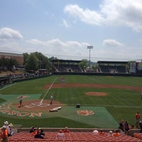 Photo taken at Doug Kingsmore Stadium by Rita S. on 4/15/2012