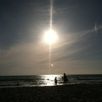 Photo taken at Coquina Beach by Sherry on 4/1/2012