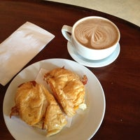 Photo taken at Sophie's French Bakery & Cafe by Suzanne R. on 7/15/2012