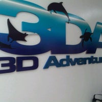 Photo taken at 3D ADVENTURES by Manabu U. on 2/28/2011