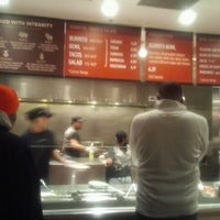 Photo taken at Chipotle Mexican Grill by Jenny B. on 1/30/2012