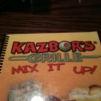 Photo taken at Kazbor's Grille by Ashley W. on 5/20/2011