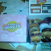 Photo taken at Nicola's Donuts by Paul C. on 2/21/2012