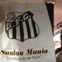 Photo taken at Santos Mania by Matheus M. on 7/25/2012