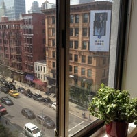 Photo taken at NYU Broome Street Residence Hall by David L. on 3/18/2012