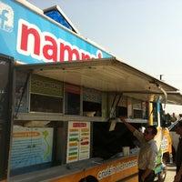 Photo taken at Nammi Truck by Jonathan C. on 9/1/2011