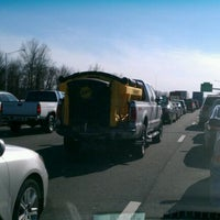Photo taken at I-91 -- Hartford by Tracey G. on 3/5/2012
