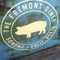 Photo taken at The Fremont Diner by Tom F. on 3/23/2012