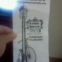 Photo taken at Behle Street Cafe by Ann Marie on 7/9/2011