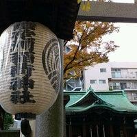 Photo taken at 鉄砲洲稲荷神社 by kou m. on 12/3/2011