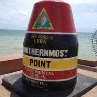 Photo taken at Southernmost Point Buoy by Brian P. on 3/30/2012