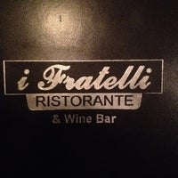 Photo taken at I Fratelli Ristorante & Wine Bar by Andrew S. on 8/17/2012