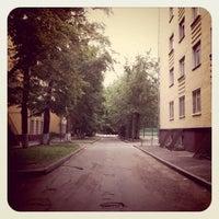 Photo taken at Общежитие МТУСИ №1 by Gấu B. on 11/19/2011