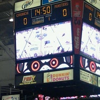 Photo taken at The Oncenter War Memorial Arena by Jennifer N. on 10/22/2011