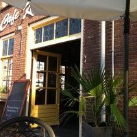 Photo taken at Café Kwebbel by trees s. on 10/2/2011