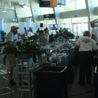 Photo taken at Corner 9 Club At Indianapolis Motor Speedway by Nightstick on 8/19/2012