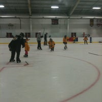 Photo taken at Gustafson-Phalen Ice Arena by Shelby J. on 11/5/2011