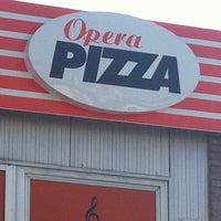 Photo taken at Opera Pizza by Ahti L. on 4/21/2011