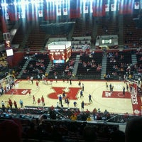 Photo taken at Rutgers- Louis Brown Athletic Center (The RAC) by Naomi D. on 12/3/2011