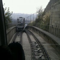 Photo taken at Funicular dos Guindais by Carlos B. on 10/16/2011