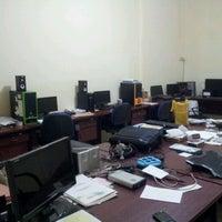 Photo taken at Mega Primavista, IT workshop by Gema P. on 12/20/2011