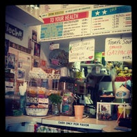 Photo taken at Juicy Lucy's Juice Bar by Marivic G. on 8/12/2012