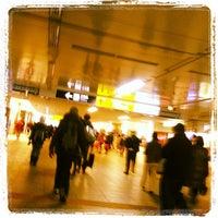Photo taken at 横浜地下通路 by Hideaki K. on 11/25/2011