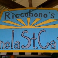 Photo taken at Riccobono's Panola Street Café by Terry S. on 3/18/2012