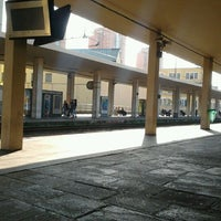 Photo taken at Genova Sampierdarena Railway Station by Alessandro Y. on 5/19/2012