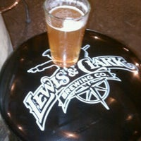 Photo taken at Lewis & Clark Brewery & Tap Room by Tom G. on 11/13/2011