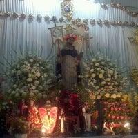 Photo taken at Parroquia Santo Domingo De Guzmán by Lucy M. on 8/8/2012
