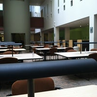 Photo taken at Lamar Soutter Library by Michael O. on 4/21/2012