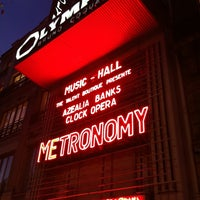 Photo taken at L'Olympia by Lyly W. on 11/10/2011