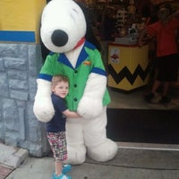 Photo taken at Camp Snoopy by Lynn M. on 9/3/2011