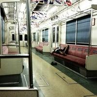 Photo taken at Stasiun Tanah Abang by Ronaldi S. on 8/19/2011