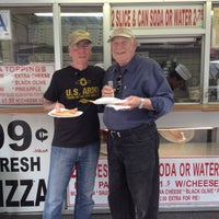 Photo taken at 99 Cent Fresh Pizza by Marty D. on 5/7/2012