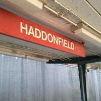 Photo taken at PATCO: Haddonfield Station by Maria C. on 5/12/2012