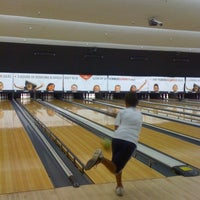 Photo taken at AMF Southshore Lanes by Reina R. on 8/25/2011